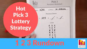 The Secrets of the Pick 3 Lottery Strategy